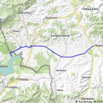 (3/3) Lipnica Wielka-Słowacja-Nowy Targ