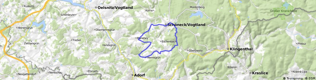 Wohlbach, Gunzen, Zwotental, Schöneck-Vogtland