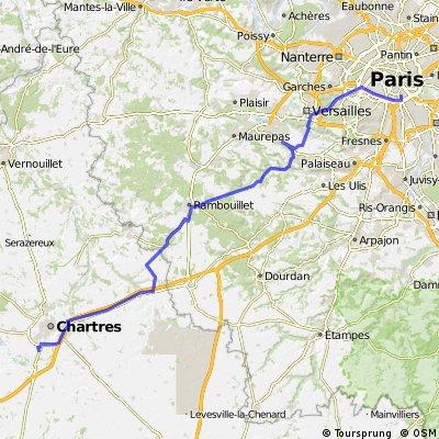 Etape1 : Paris-Chartres
