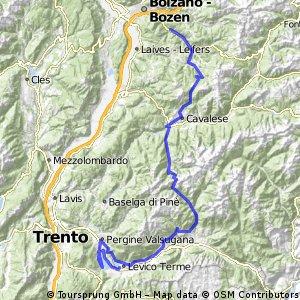 2011_Tag 10_Eggental - Levico Terme