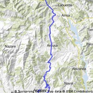 Pirineos 4 (Ascaso-Ainsa-Alquézar)