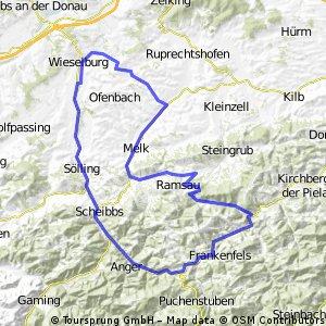 Annatsberg - Frankenfels - Annatsberg