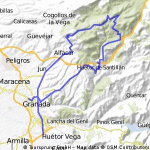 Sierra de Huétor - Cañada del Sereno - GR040 19/03/06