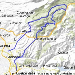Cañada del Sereno - Cortijo Chorrillo - GR044 - 13/04/06
