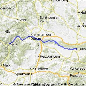Dunaj 4.etapa Spitz - Tulln