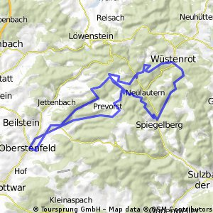 Oberstenfeld in die Spiegelbergrund