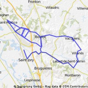 Les montées de Castelnau