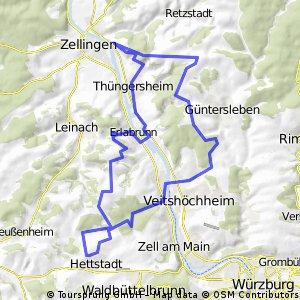Veitshöchheimer Trailrunde CLONED FROM ROUTE 524215
