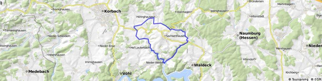 Edersee-Radweg ER 1