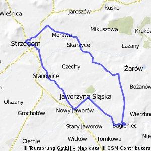 Strzegom - nowa droga Świdnica Żarów - Strzegom