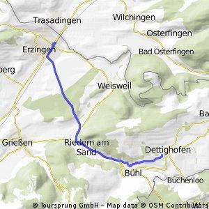 Dettighofen - Erzingen/ Erz. - Dett.