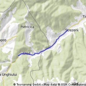 Antrenament la Valea Caprei