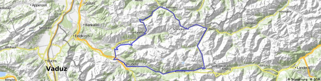 bludenz flexenpass damüls fontanella bludenz CLONED FROM ROUTE 213585
