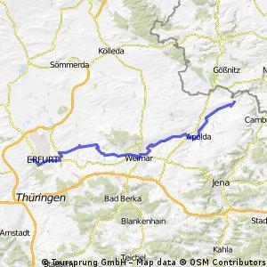 Bad Sulza-Erfurt Tour 2011