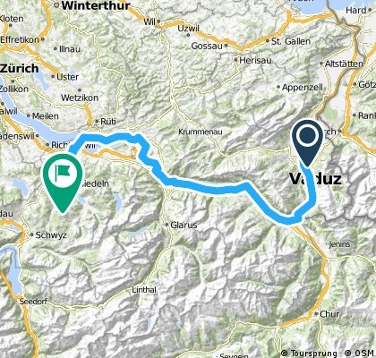 Schweiz/Rhein 2011 Etappe 1/9