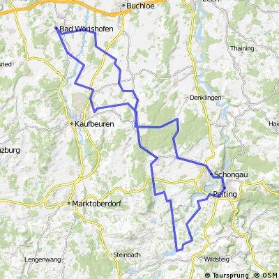 Lechbruck - Peiting - Schwabsoien