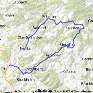 Von Dauernheim in den Vogelsberg