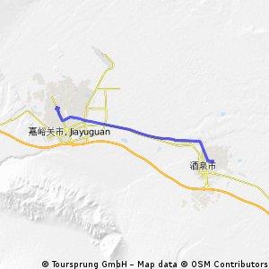 Jiayuguan - Jiuquan