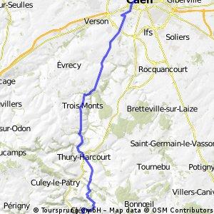 Caen - Clécy à Vélo