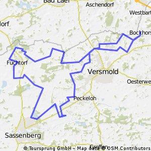 Bockhorst-Füchtorf-Peckeloh 50 km