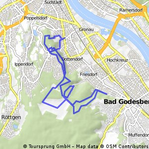 Venusberg Kottenforst MTB Runde Bikemap Your bike routes