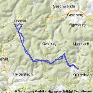 Stützerbach - Oberhof