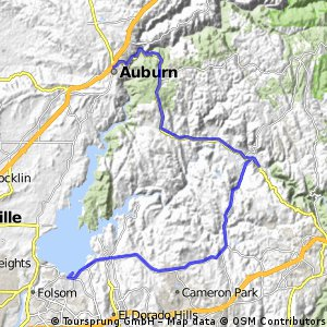 Test (Folsom Lake to Auburn)
