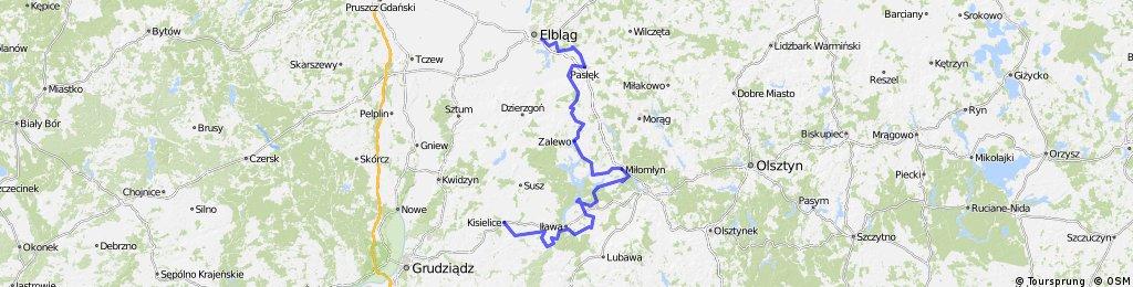 Rowerem po Krainie Kanału Elbląskiego