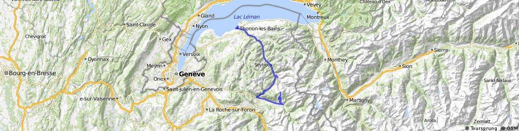 Bocycle Col de Joux Plane Ligfiets&