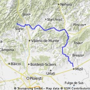 Mizil - Crasna - trekking