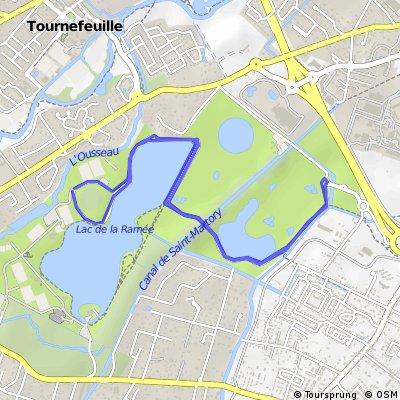 circuit triathlon La Ramée