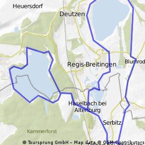 Rund um Haselbacher See und Adria