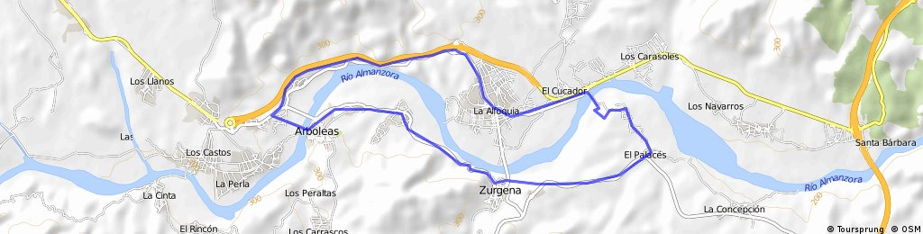 El Palaces-La Alfoquia-Arboleas-Zurgena-El Palaces