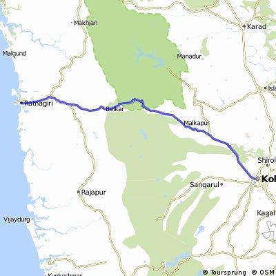 Ratnagiri To Kolhapur