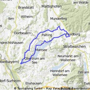 Kaiserbuche und Trumer Seen