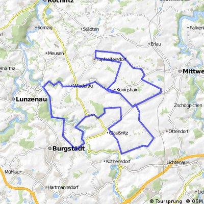 Schleife_Taura-Chemnitztal-Wiederbachtal-Altmittweida-Erlbachtal