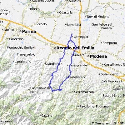 Correggio, Passo Falò, Correggio