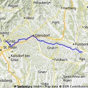Königsdorf (Bgld) - Graz