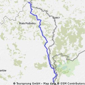 Granicami Polski 2011 - DZIEŃ 33. Nad Bugiem