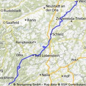 2. Tag Zeyern - Weida
