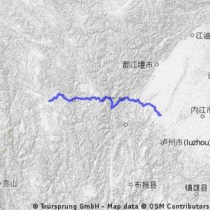 China Litang Leshan 600km