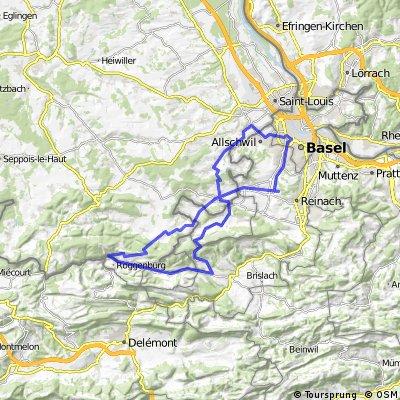 Elsass-Jura Route