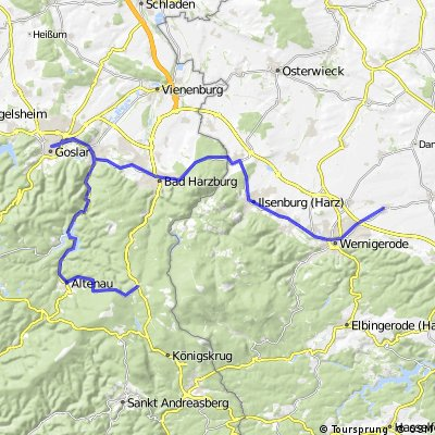 Góry Harc 5 września 2011