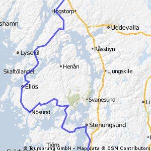 44) Nord-tour: 26.8. Göteborg-Munkedal