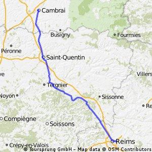 Reims - Cambrai Day 14