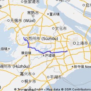 Backe from Suzhou