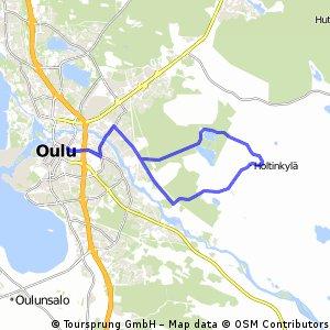 Around Niilesjärvi