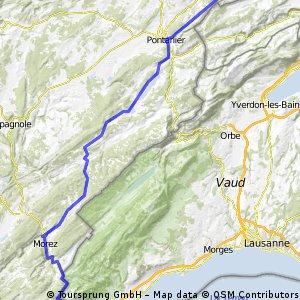I stage 9 ..... Gex – Morteau 28 Août 2012
