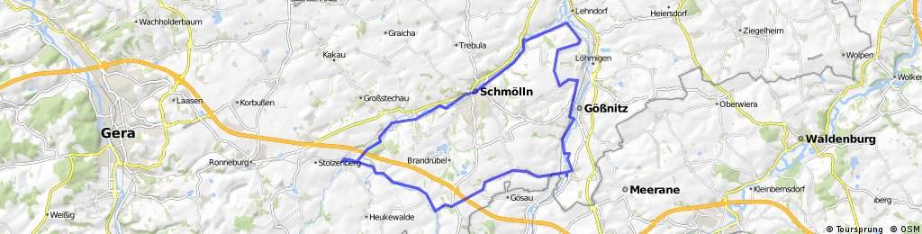 Ponitz-Goessnitz-Saara-Schmoelln-Posterstein-Ponitz CLONED FROM ROUTE 88712