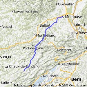 J stage 10..... Morteau – Mulhouse 29 Août 2012